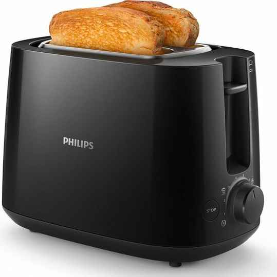 Philips Daily HD2581/90 - Broodrooster - Zwart
