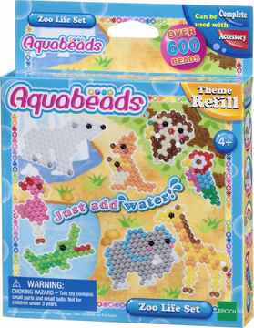 Aquabeads Thema navulling Dierentuinset 31078