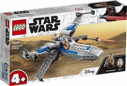 LEGO Star Wars 4+ Resistance X-Wing  75297