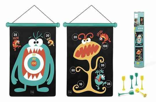 Magnetisch Dartspel  Monsters