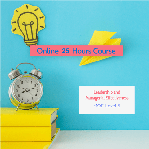 Online Live Fast Track Course - Award in Leadership and Managerial Effectiveness