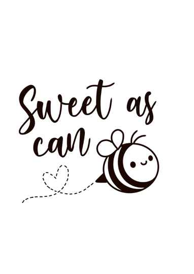 Sweet as can bee
