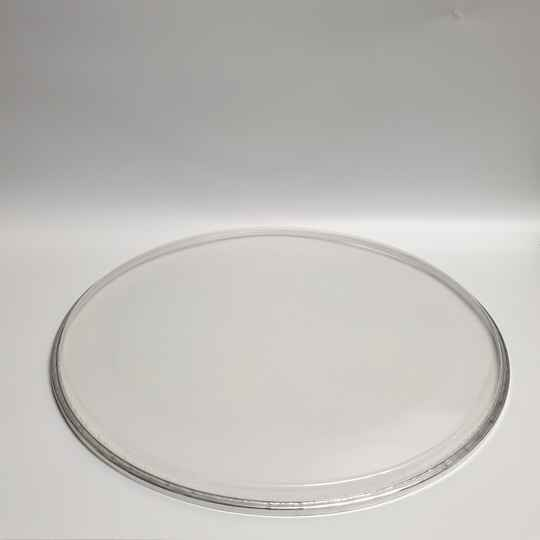 """22"""" dubbellaags met dempring clear/2 ply with muffler ring clear"""