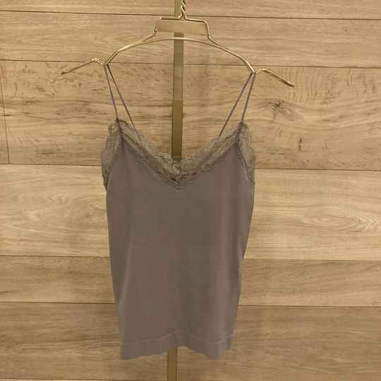 Pieces Toloa Singlet Taupe