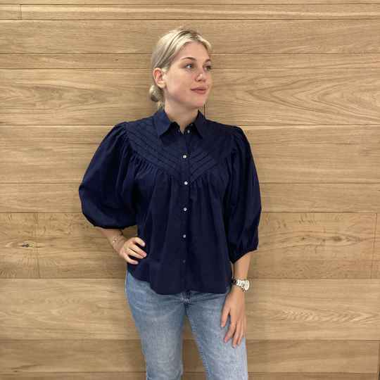 ONLY Karla 3/4 Blouse 30 Blauw