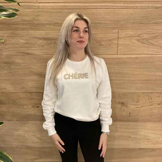 ONLY Annie Bling Sweater Offwhite