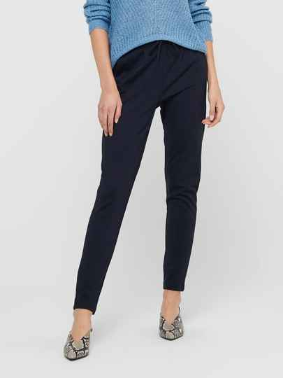ONLY Poptrash Pants Donkerblauw