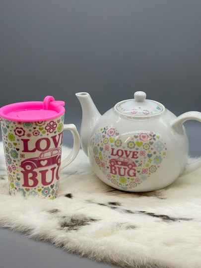 Love Bug en theepot