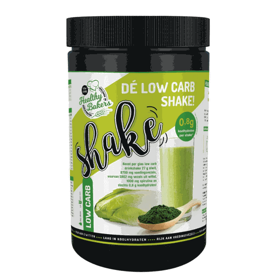 Healthy Bakers low carb shake 700g - 4693