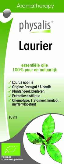 Physalis laurier bio 10ml - 10216