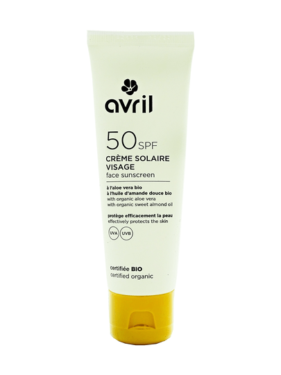 Avril zonnecreme SPF 50 bio 50ml - 00725