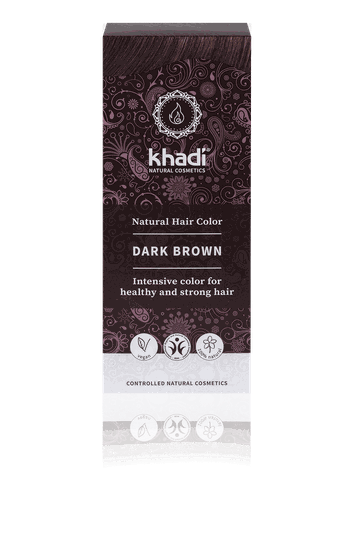 Khadi dark brown 100g - 40169