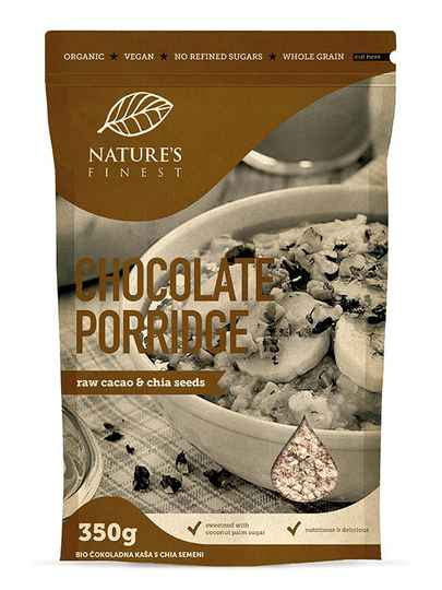 Nature's finest havermout & porridge chocolade 350g - 50377