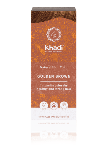 Khadi golden brown 100g - 49704