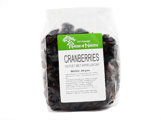 House of Nature cranberries 200g