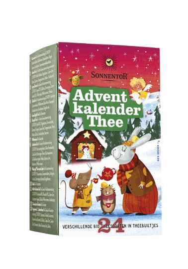 Sonnentor Advent Kalender thee 24st