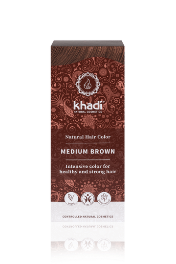 Khadi medium brown 100g - 49711
