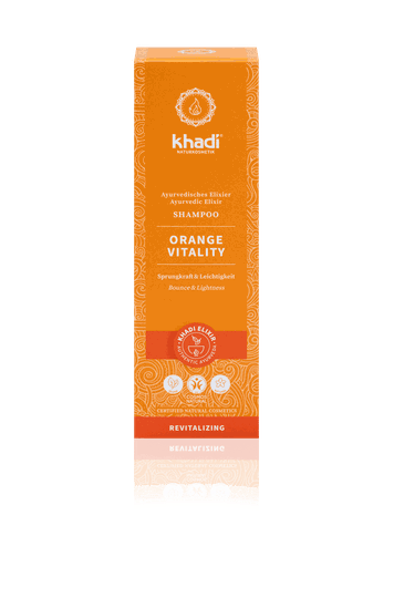 Khadi elixer shampoo orange vitality 200ml - 90125