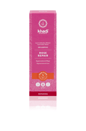 Khadi elixer shampoo rose repair 200ml - 90149