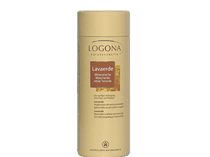 Logona rhassoul clay powder gentle cleansing for skin and hair 300g