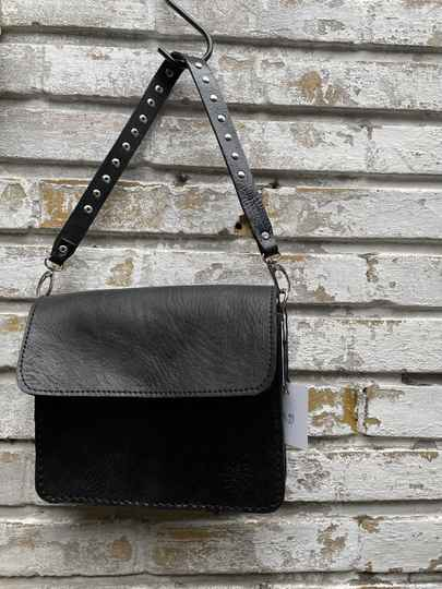 Paris Bag met stud bagstrap