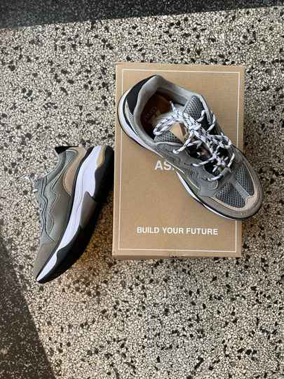 Sneakers ASFVLT coffee grey black maat 38
