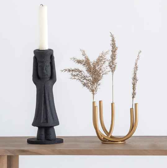 Candle Holder Mulher
