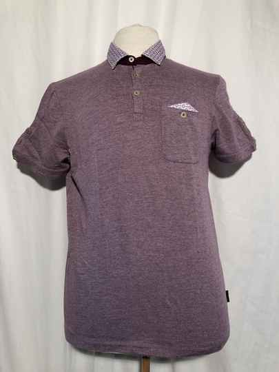 Ted Baker paarse polo maat L
