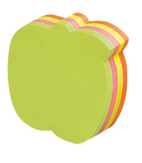 Shaped sticky notes appel