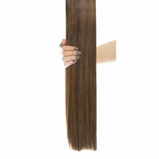 Gold Double Weft - Chocolate