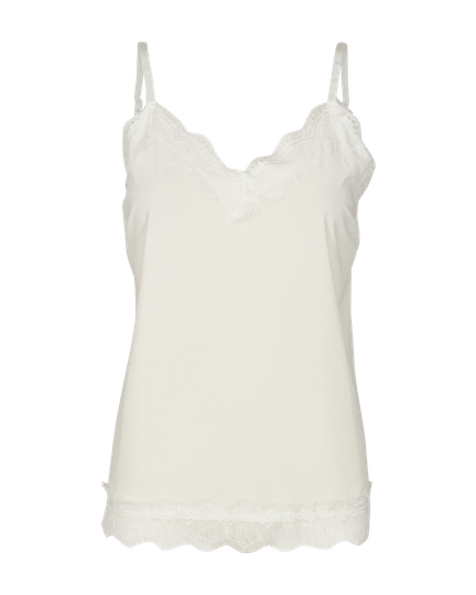 Freequent LACE TOP WHITE