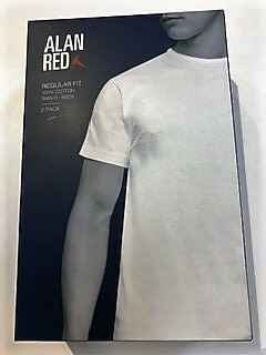 Alan Red T-shirt Derby 2Pack