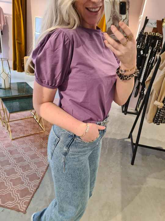 24colours t-shirt 11494b -purple-