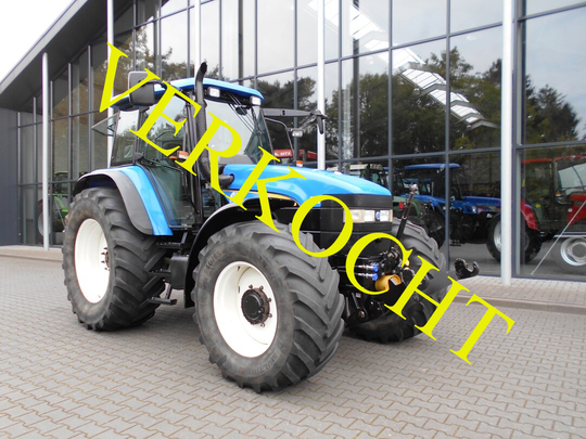 New Holland TM 140 + fronthef/PTO
