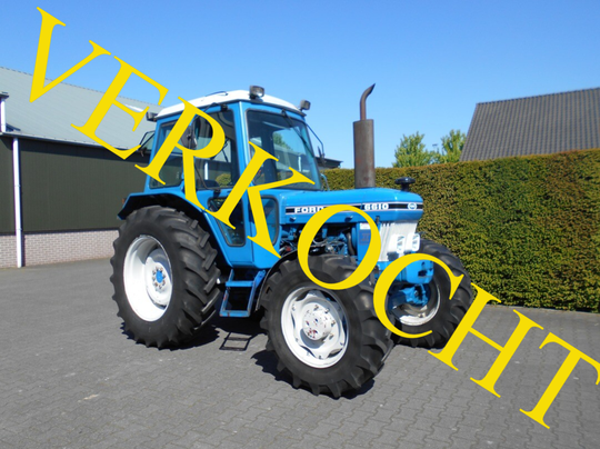 Ford 6610 4-wd