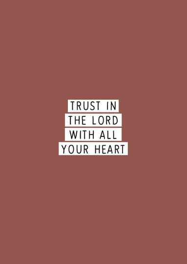 7240 - TRUST IN THE LORD