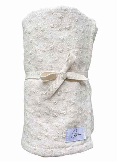 Swaddle Linnenlook Embroderie - 70x70 cm