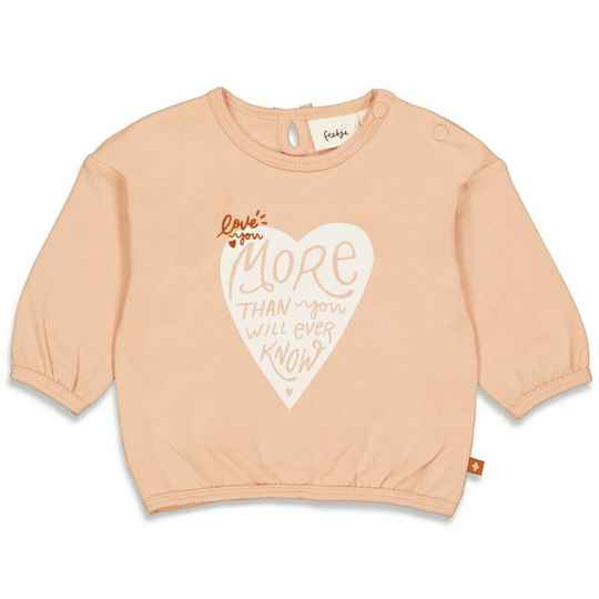 Feetje - Love you more - Sweater Love you