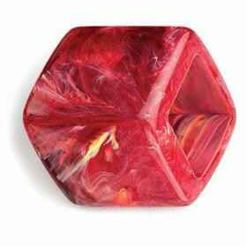 CUBE RED MARBLED SHINY (RMS)