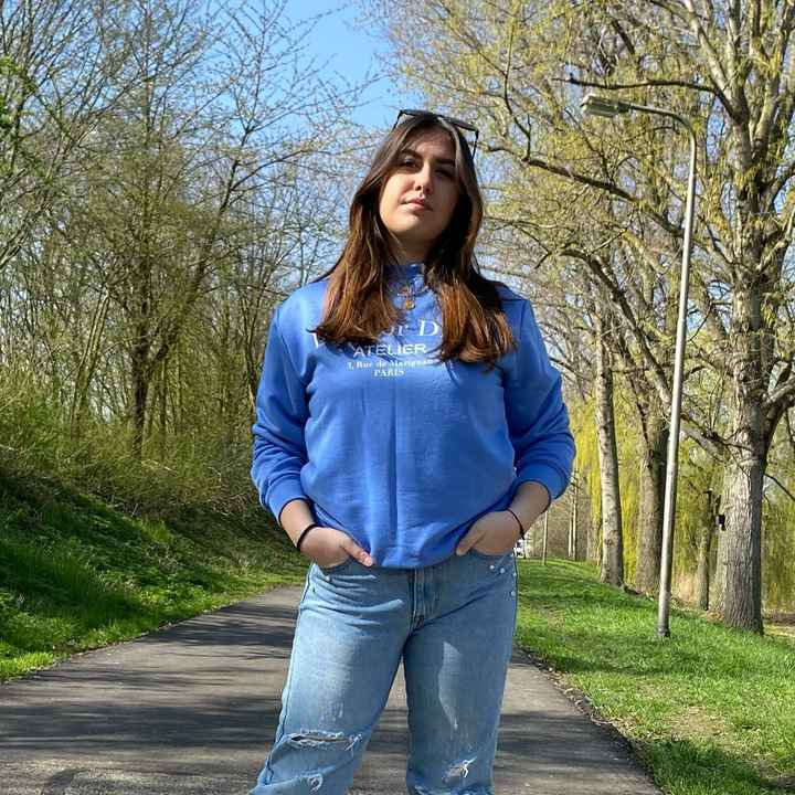 DIE FOR DIOR SWEATER BLUE