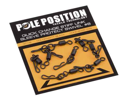 Pole Position Quick Stiff Link Sleeve Protect Swivel #8