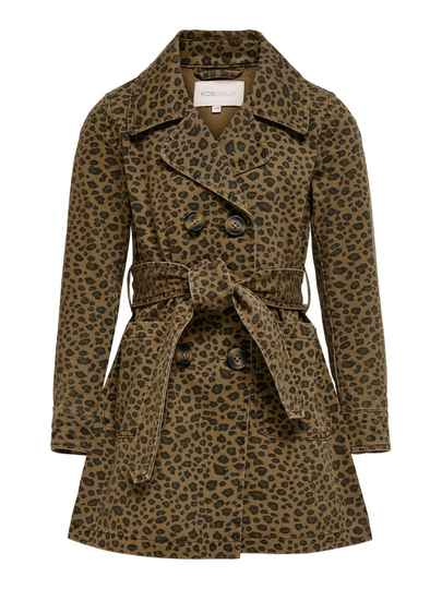 ONLY KIDS Maya Life Leopard Trenchcoat