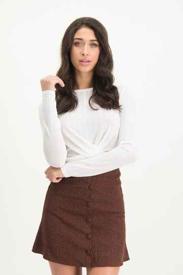 LOFTY MANNER Top Lola White