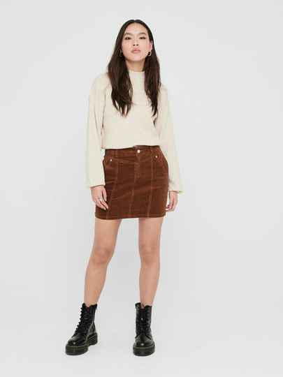 ONLY Amenia-Alisa Life Hw Corduroy Skirt