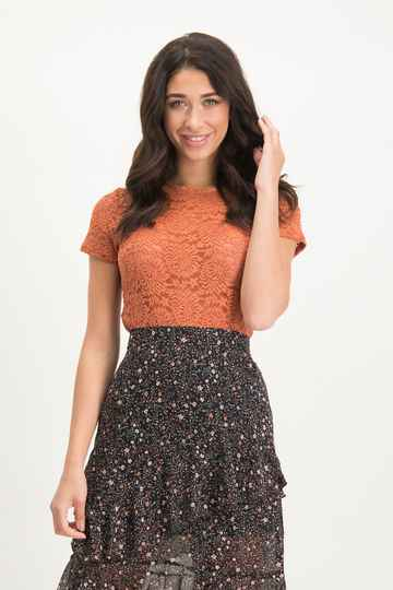 LOFTY MANNER Top Noralie ORANGE