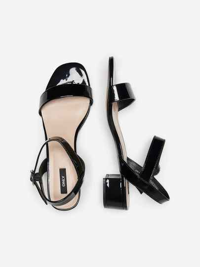 ONLY Apple midi heelde patend sandal