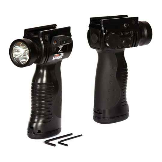 Tactical flash light grip Airsoft only