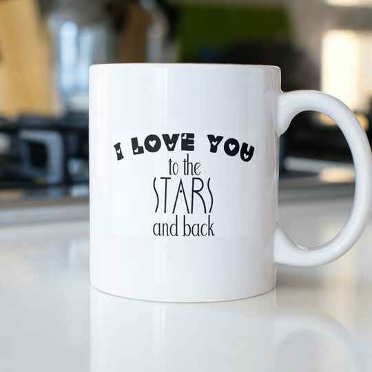 I Love you to the Stars and back (Sprüche Sonstige 0821.3)