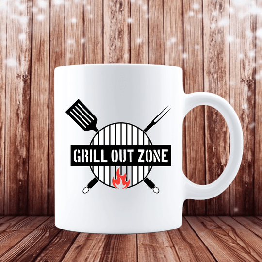 Grill out Zone (Grillen Tasse 1156.2)