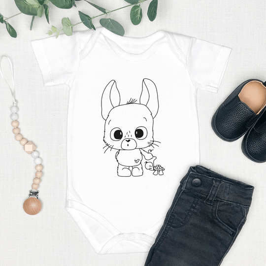 Kein Meer Hase (Baby Body 6561)